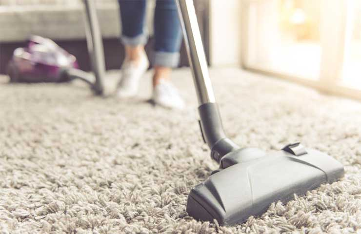 Vacuum cleaners help to get rid of allergens on carpet and other floor types.