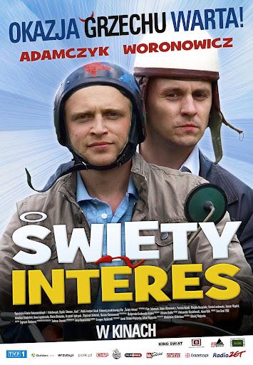 Polski plakat filmu 'Święty Interes'
