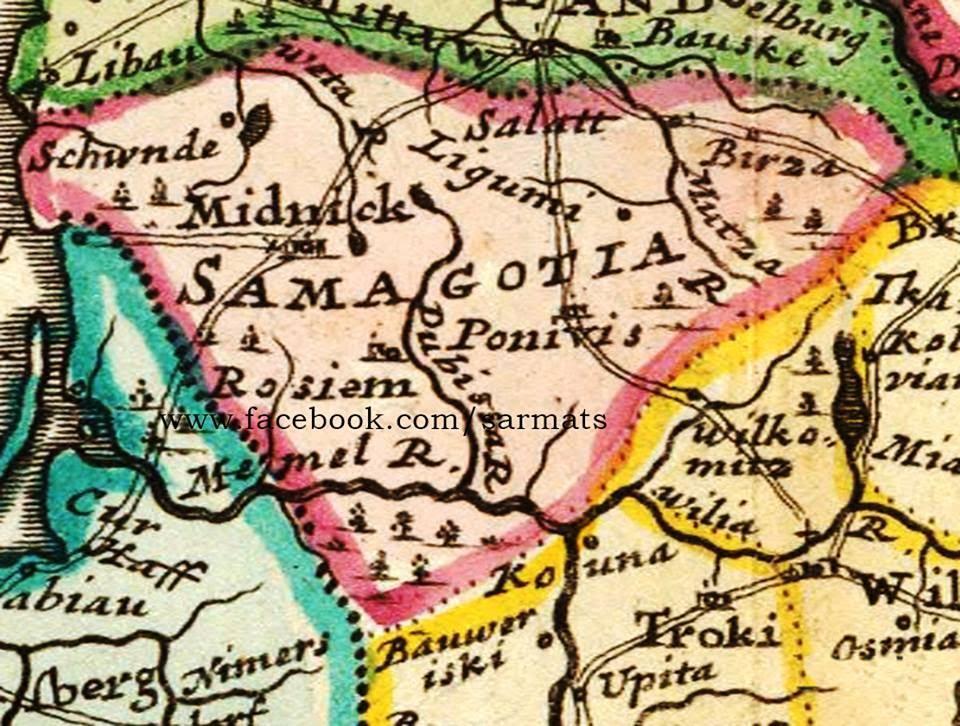 C:\Users\PC\Desktop\Meska\Samogetų - Žemaičių - Gotų kunigaikštystės ribos 1732 metais. Paskutinieji laisvi (nepavergti krikščionybės), o galimai ir pirmieji Europos Gotai..jpg