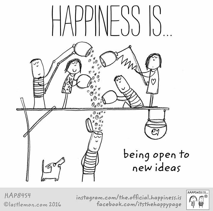 Being Open To new Ideas | Happy quotes, Teamwork quotes, Happy thoughts
