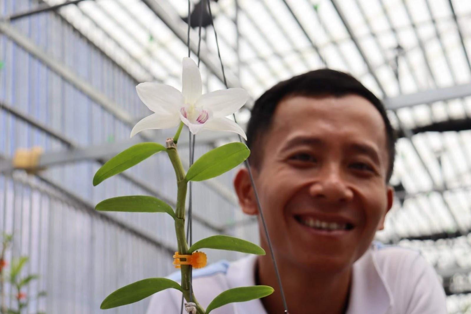 Anh Trần Quang Duy - Dành trọn trái tim cho cho hoa lan - Ảnh 4