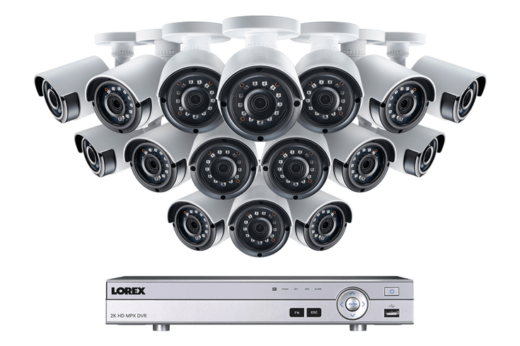 2KMPX1616 2K 4MP security system