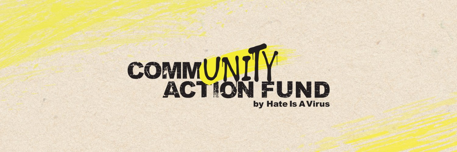 Hate is A Virus banner