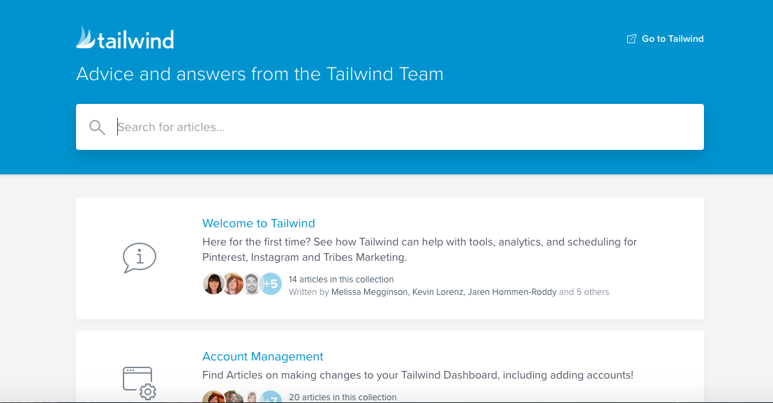 Tailwind FAQ