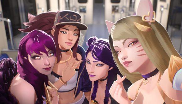 Kolaborasi K-Pop dan Game MOBA Lewat Virtual Idol K/DA!