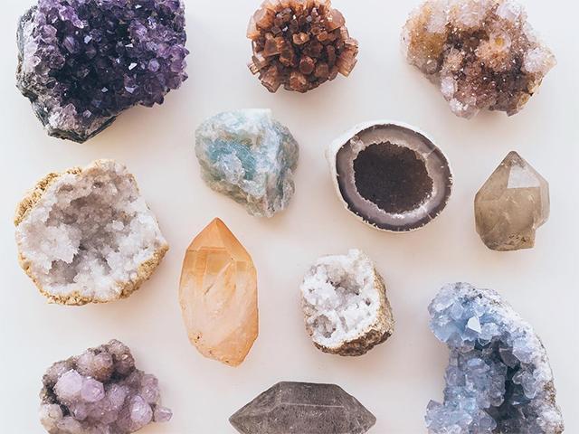 Learn about Crystals at Shamata Pilates & Yoga