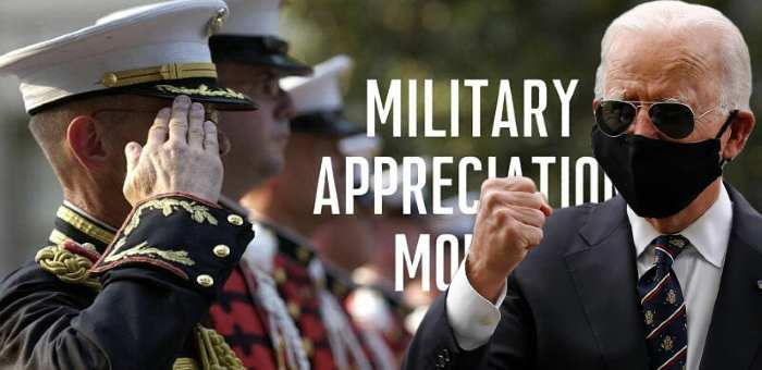 Appreciation or Emasculation of the U.S. Armed Forces?