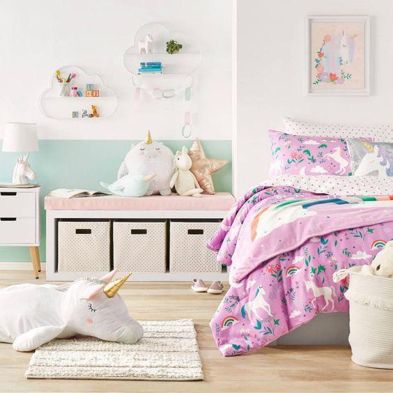 Unicorn Little Girl Bedroom Ideas
