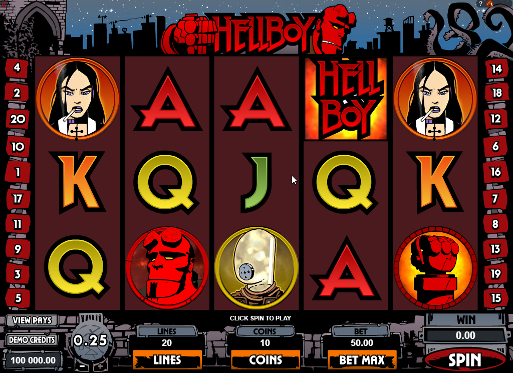Hellboy Slots Game Review