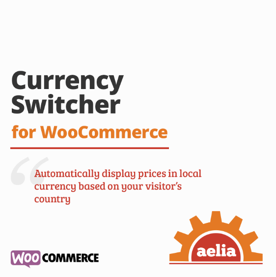 Currency Switcher plugin for multi-currency e-commerce