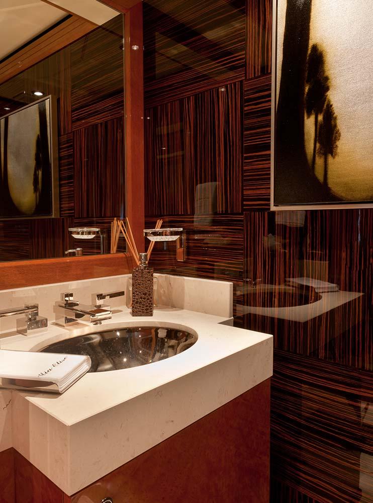 , Head of Class The Quintessential Superyacht Bathroom