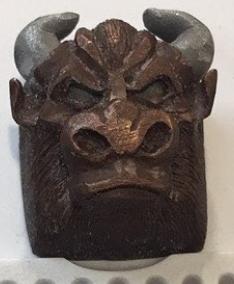 Artkey - Bronze Bull (Test Sample) Bull