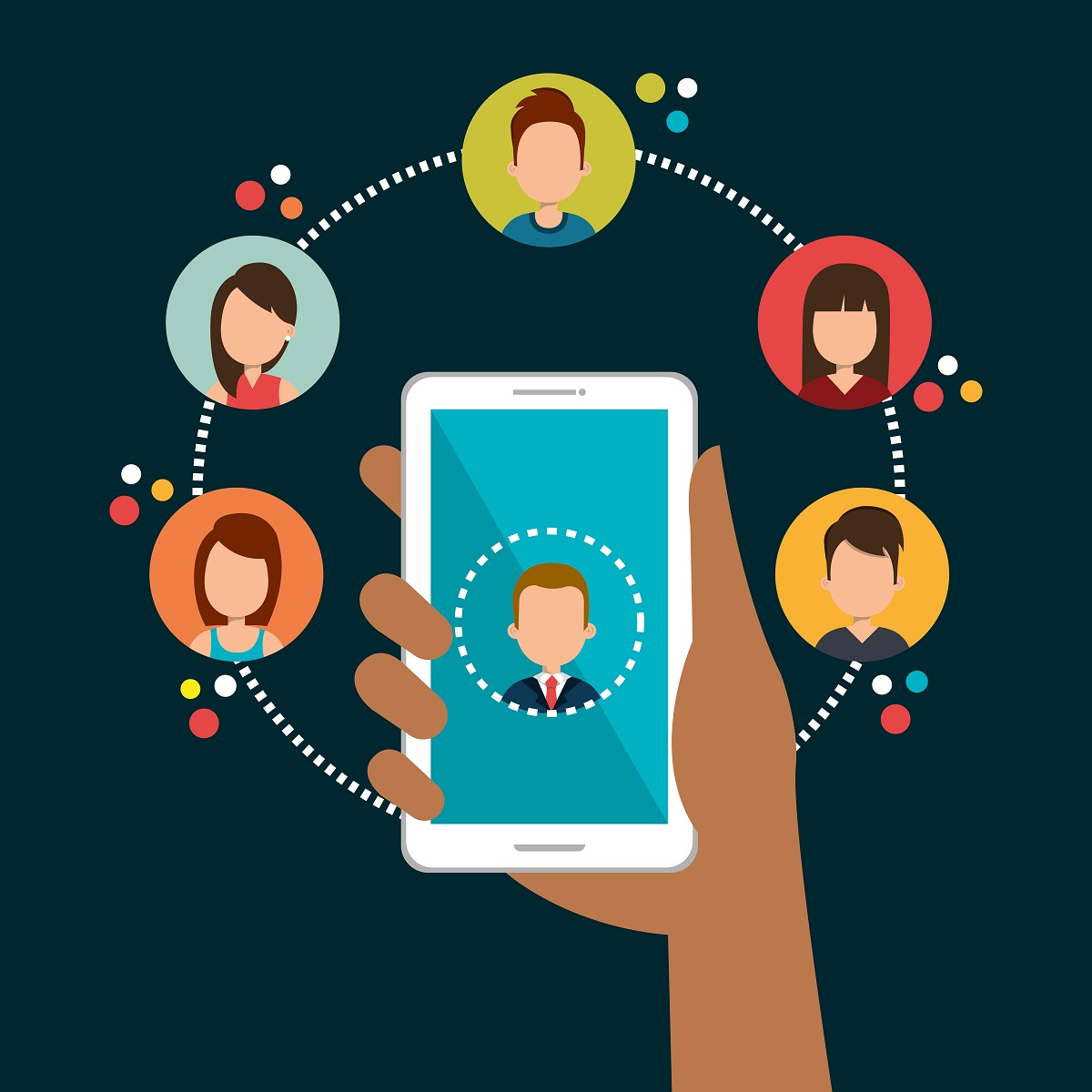Companies want to develop a relationship with customers
