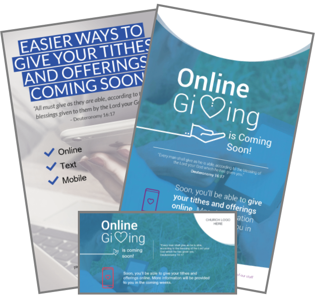 Online giving resources