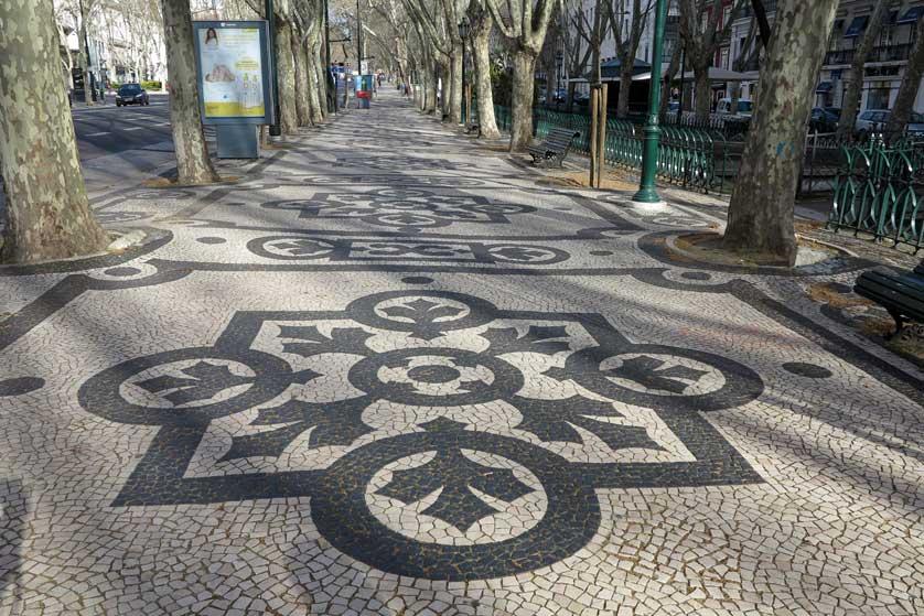 Avenida da Liberdade, Lisbon.