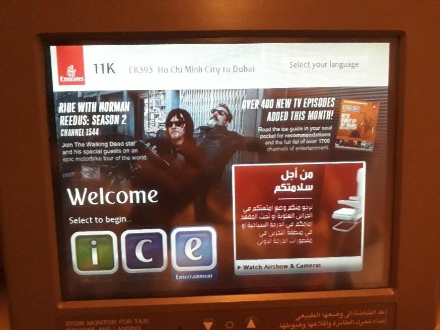 Máy bay Emirates