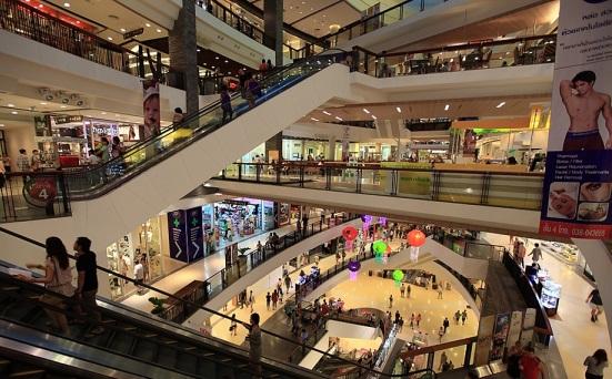 Tìm hiểu trung tâm thương mại ở pattaya