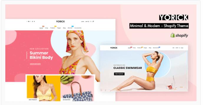Clean shopify theme