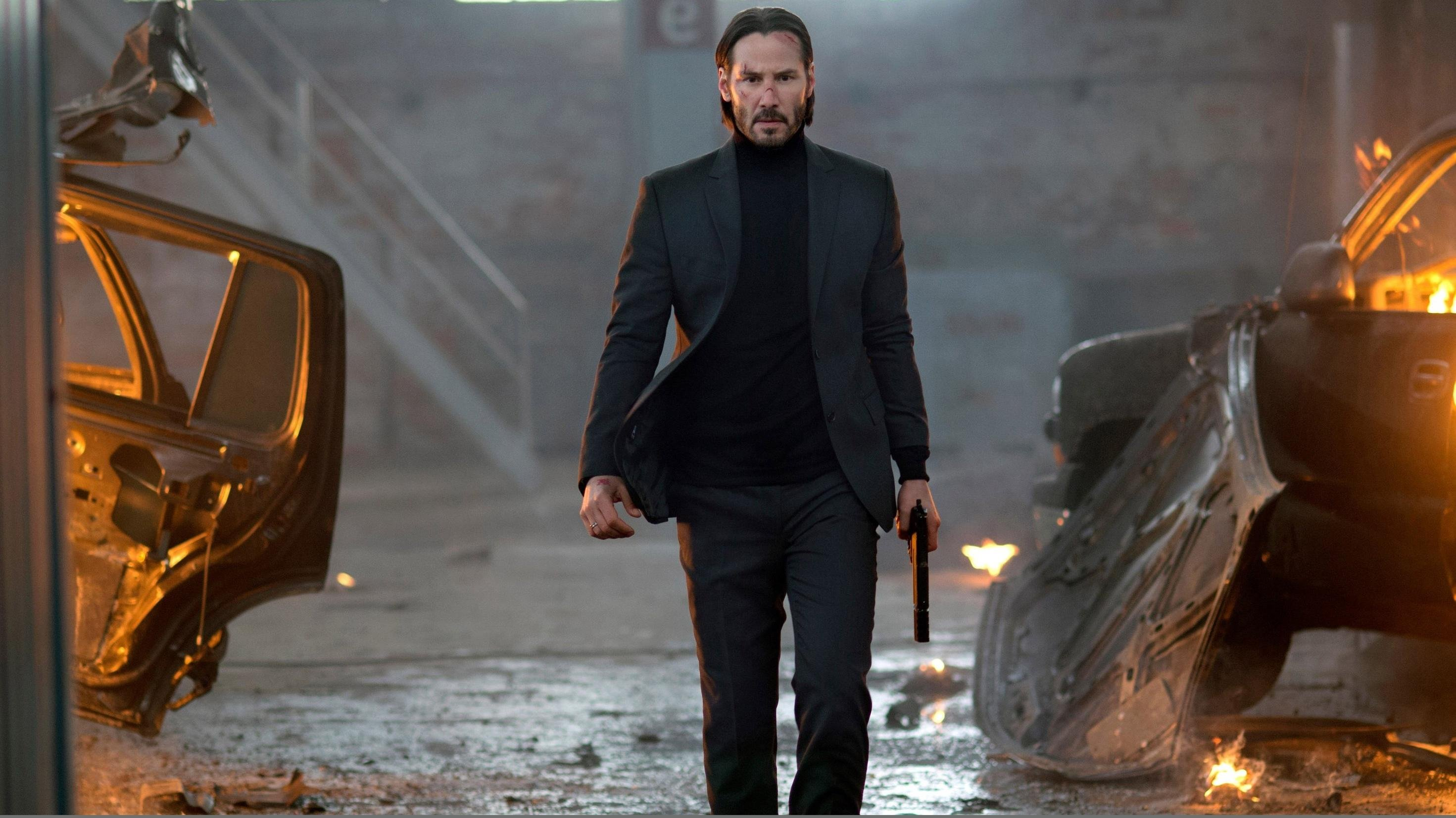 6. 'The John Wick' movies are always a great action movie to watch. But the third one is definitely the most sensational. The aggressive fighting scenes will blow your mind.
