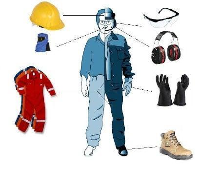 Một vài sản phẩm đồ bảo hộ cơ bản