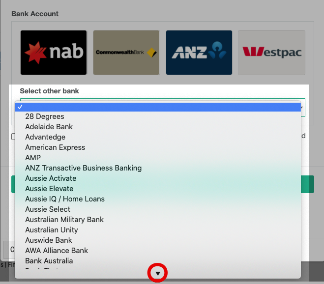 FoodByUs_bank_account_payment_other_banks_choose