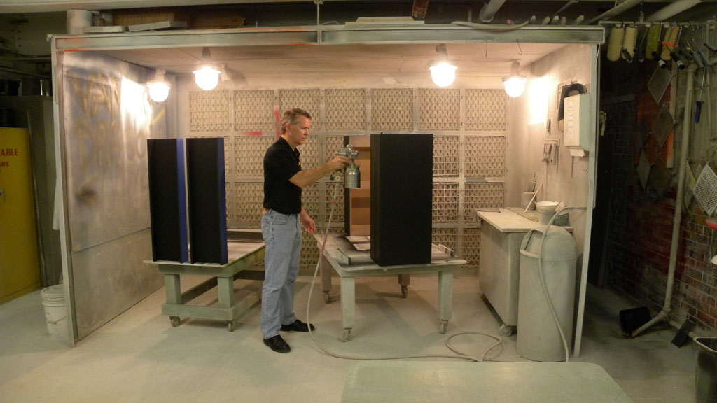 woodworking spray booth