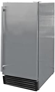 2. CalFlame BBQ10710-A Outdoor Stainless-Steel Refrigerator
