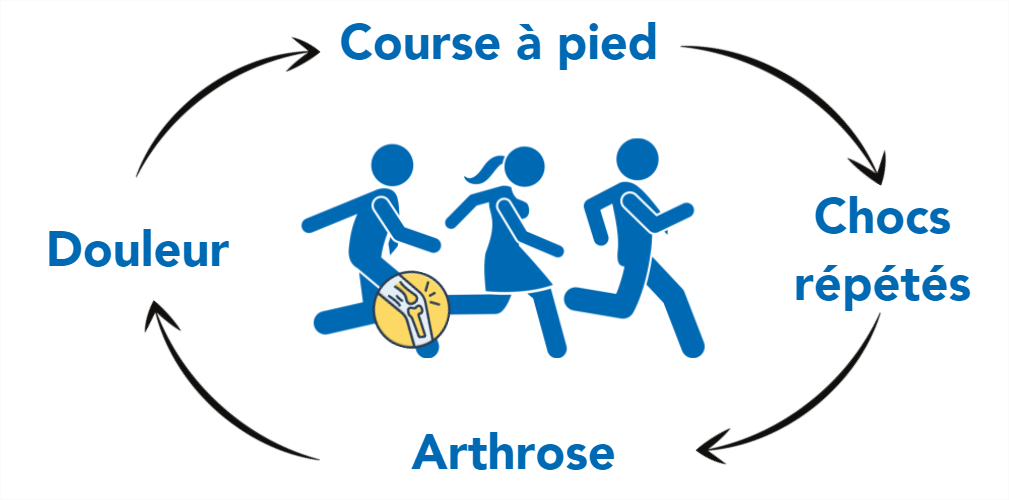 Mythe sur la course à pied et l'arthrose