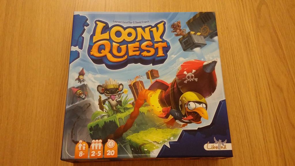 La scatola di Loony Quest