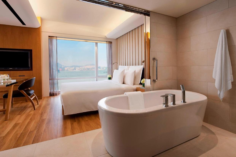 浴室可與睡房打通,空間感更大