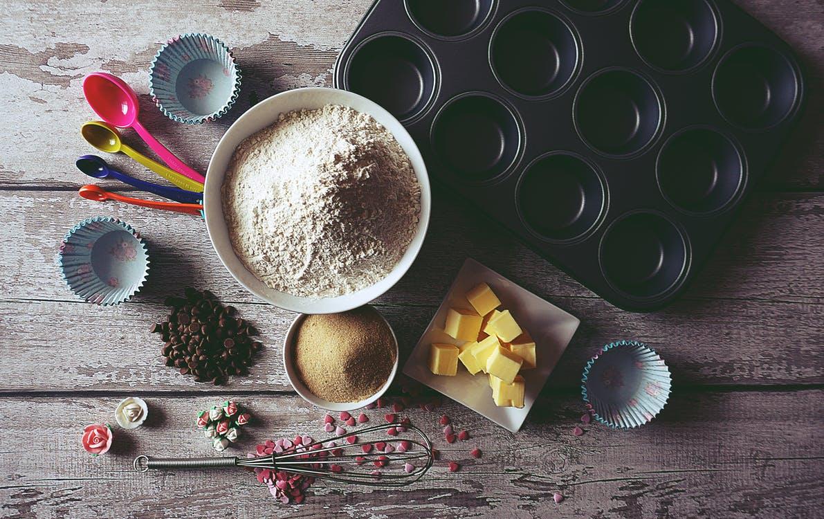 Ingredients On Table