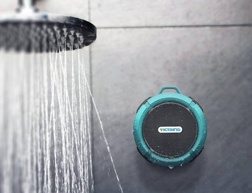 Kết quả hình ảnh cho The VicTsing Wireless Shower Speaker