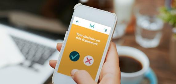 MiVote app blockchain technology Horizon State