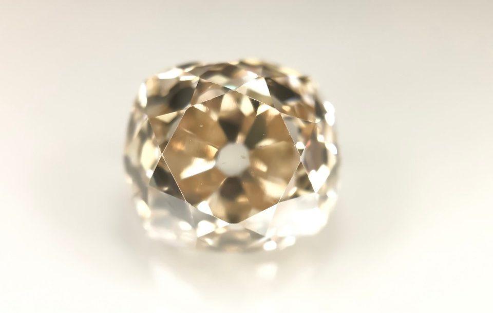 An old miner cognac diamond