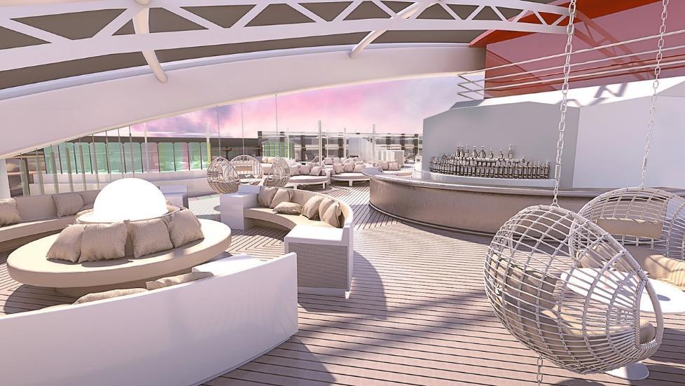 Chiêm ngưỡng du thuyền lãng mạn hiện đại chỉ dành cho người lớn của tỷ phú Richard Branson: Không gian bắt mắt, dịch vụ hoàn hảo chưa từng có trên đời - Ảnh 1.