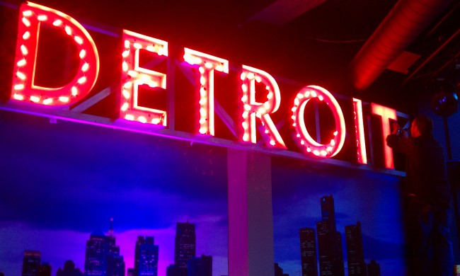 Detroit LED Channel Letters