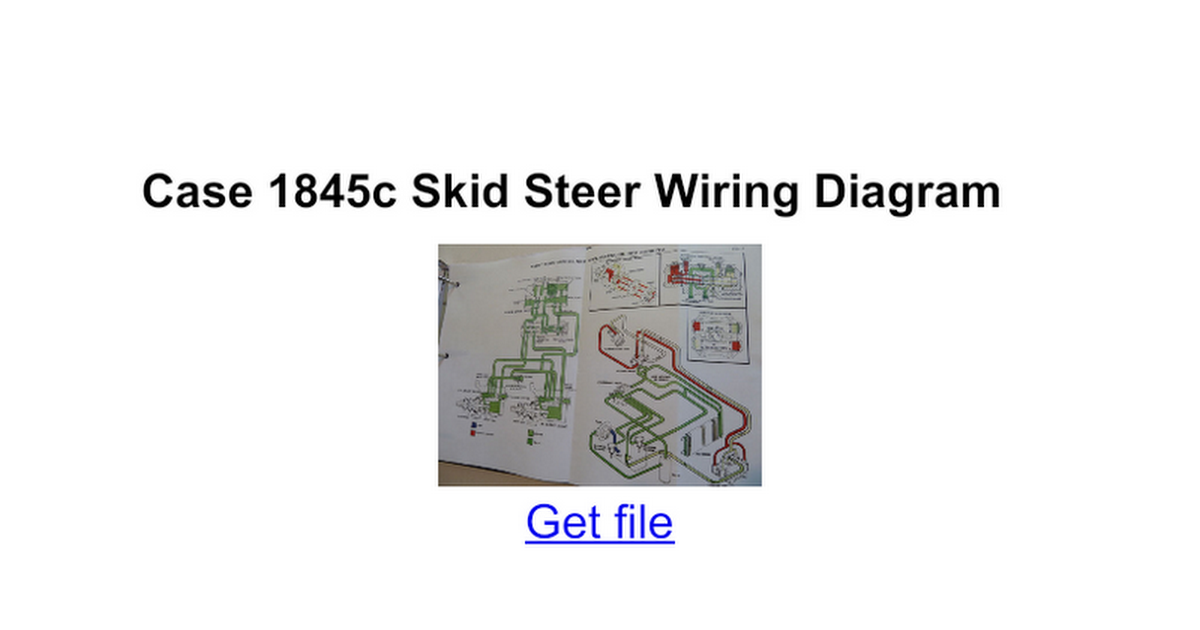 Diagram Case 1845c Wiring Diagram Full Version Hd Quality Wiring Diagram Wiringshed Apposrl It