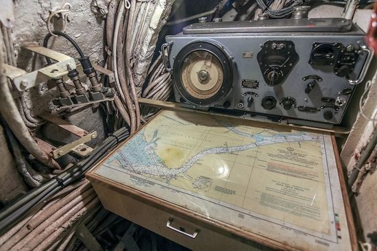Soviet submarine-museum in St. Petersburg, Russia, photo 16