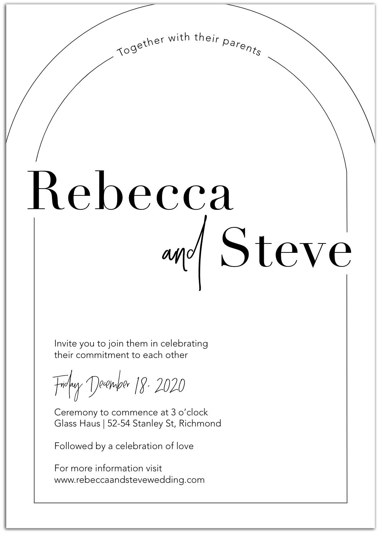 bold invitation