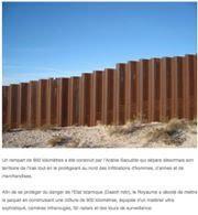 On ne parle pas beaucoup du mur de l'Arabie Saoudite construit pour se protéger de ISIS(DAESH) et pourtant qu'est ce qu'on nous a rabattu les oreilles avec le mur israélien !!!