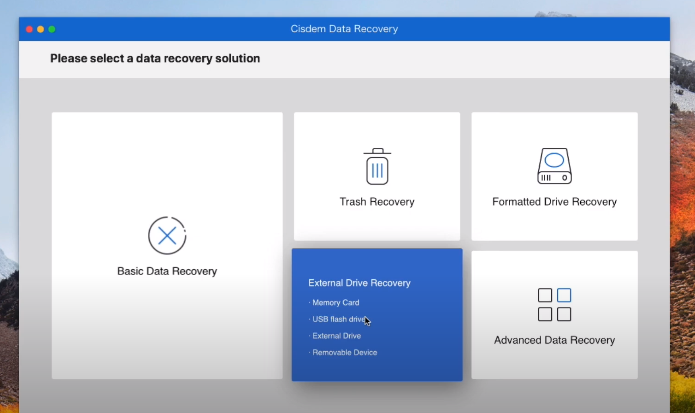 Download and install the data recovery software