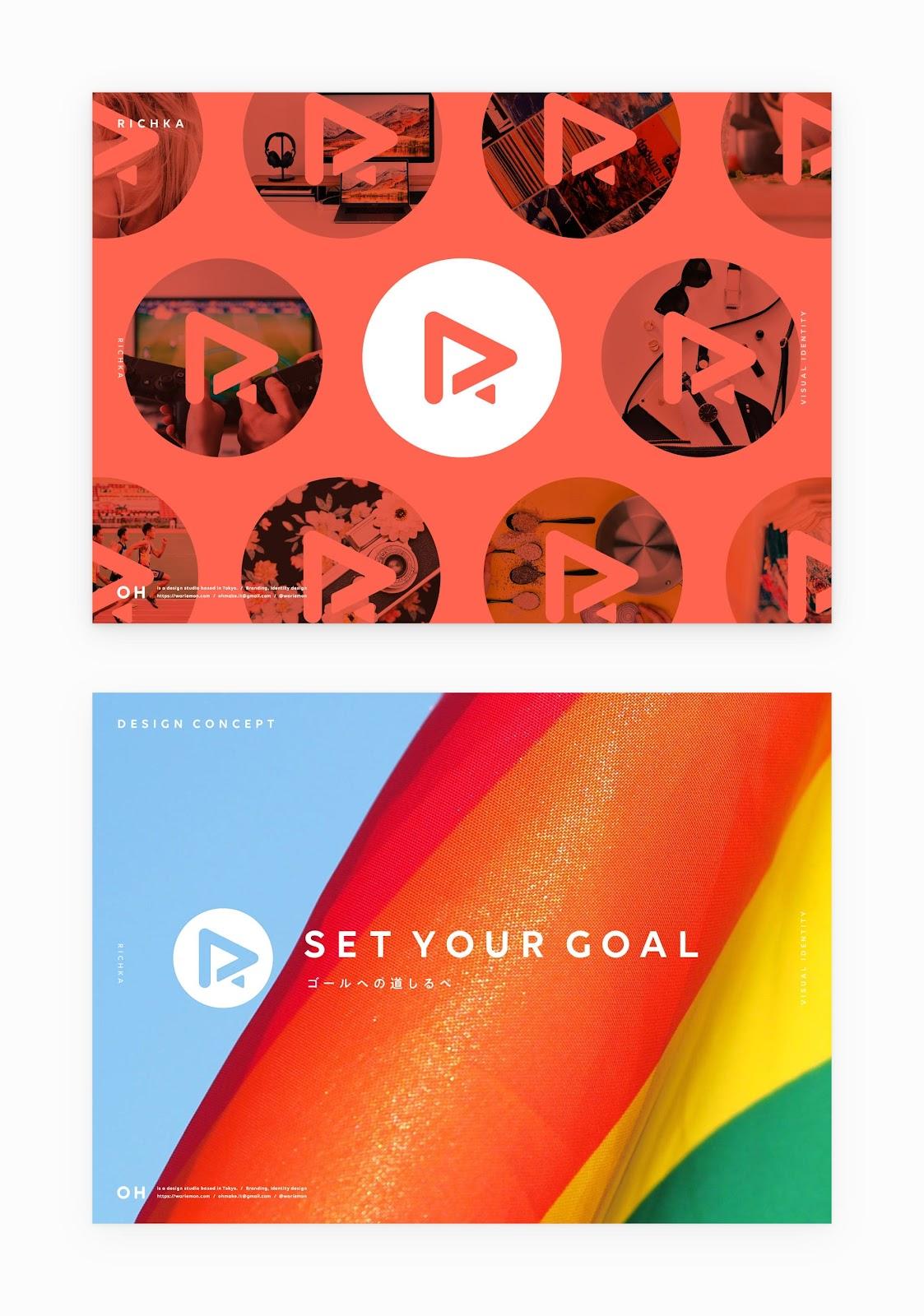 動画広告生成プラットフォーム『RICHKA』のデザインコンセプト