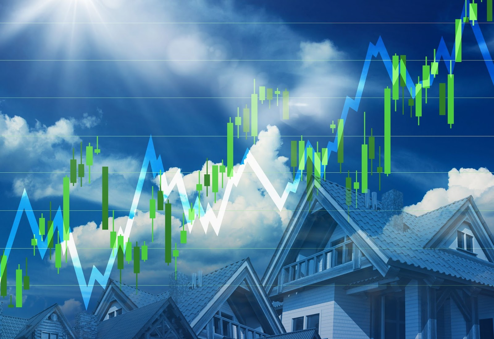 Property stock going up