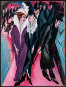 Ernst Ludwig Kirchner (1880-1939)  Straße, Berlin (Street, Berlin)