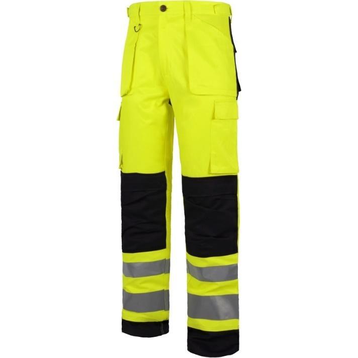 Pantalón de alta visibilidad para técnicos en emergencias sanitarias