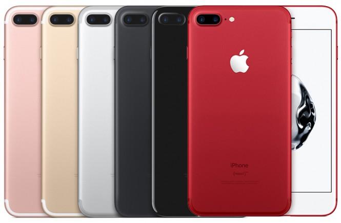 nhu cầu sửa chữa điện thoại iPhone 7, 7 Plus
