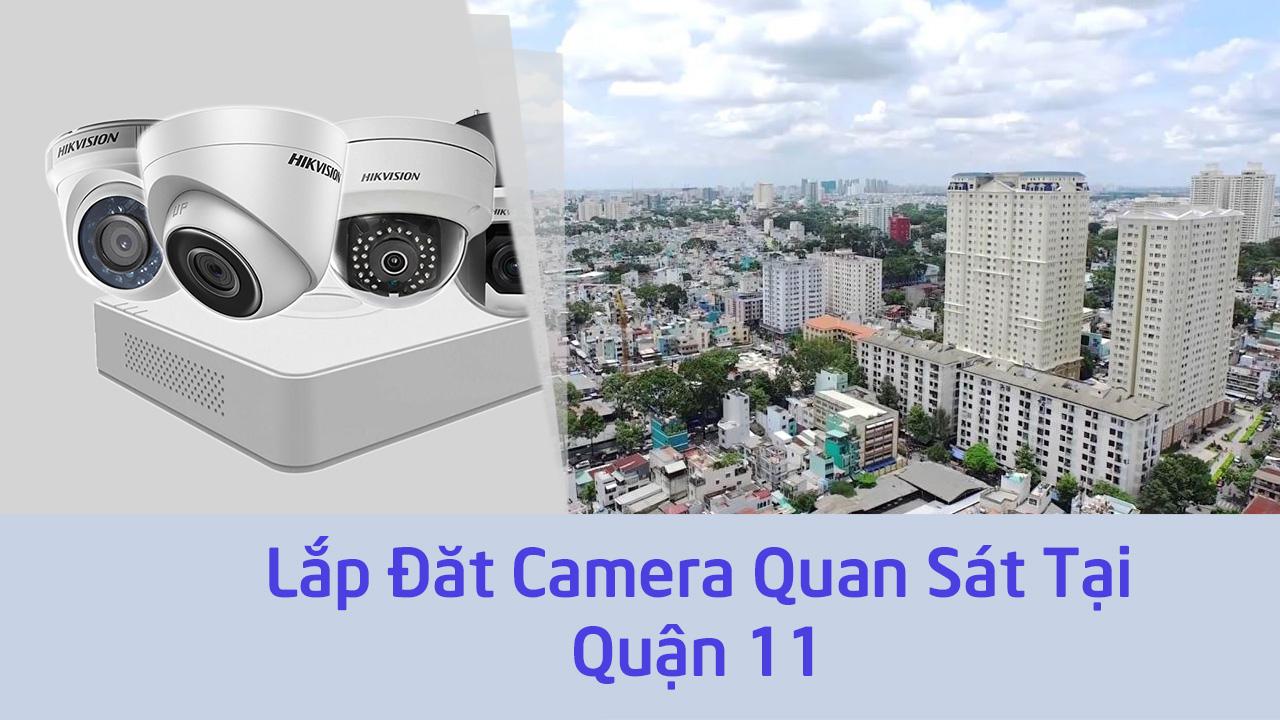 Lắp đặt camera quận 11 giúp bạn giám sát hoạt động kinh doanh hiệu quả