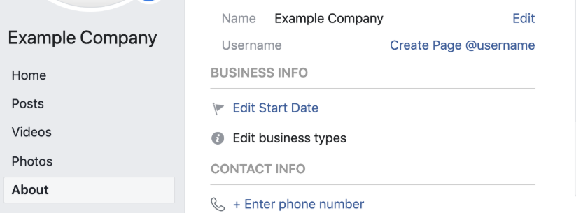 How to create a custom URL for your Facebook Business Page