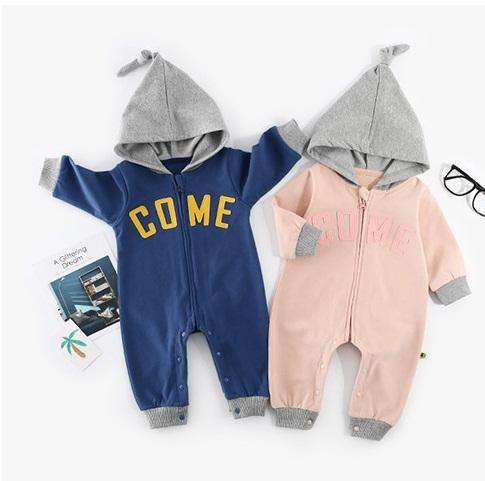 Kombinezon dresowy zimowy dla niemowlaka 1