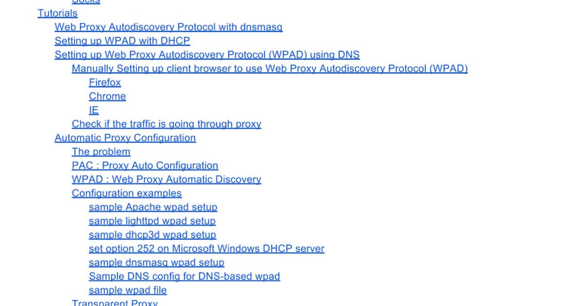 NF: Networking - WPAD - Web Proxy Auto-Discovery Protocol - Google Docs